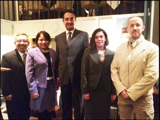 Prince Jorge Rurikovich and Mohamed Dekkak with Government of Guatemala