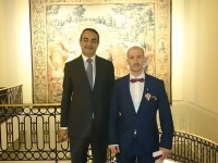 Prince Jorge Rurikovich awarded by The Institute of Professional Excellency
