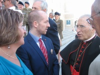 Rurik Dynasty and Archbishop Cardinal Rouco Varela at Catedral de la Almudena