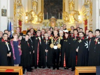 Royal investiture invitation under The Order of Malta
